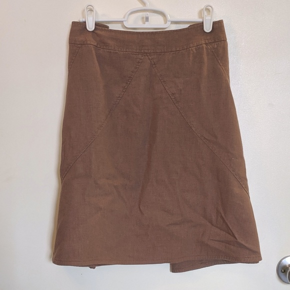 Merona Dresses & Skirts - Linen blend skirt